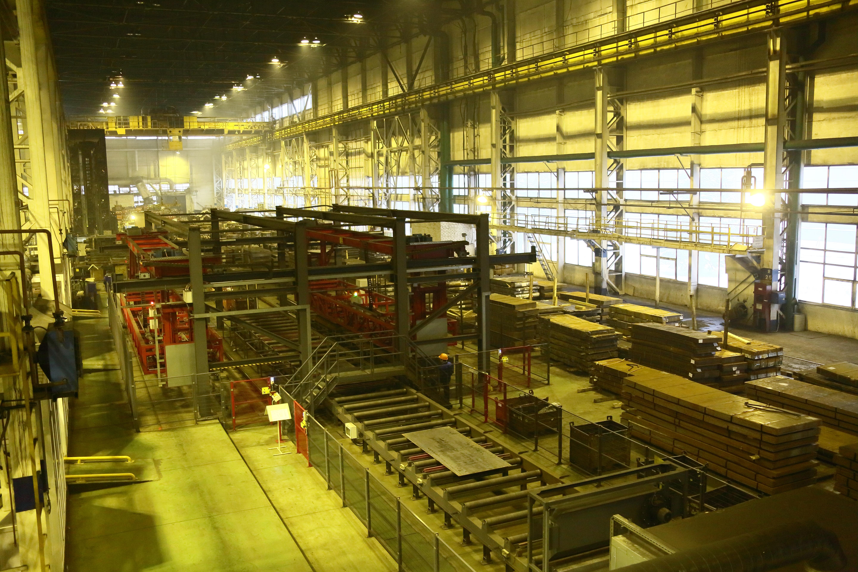 На прессово-рамном заводе модернизирована линия очистки металла
