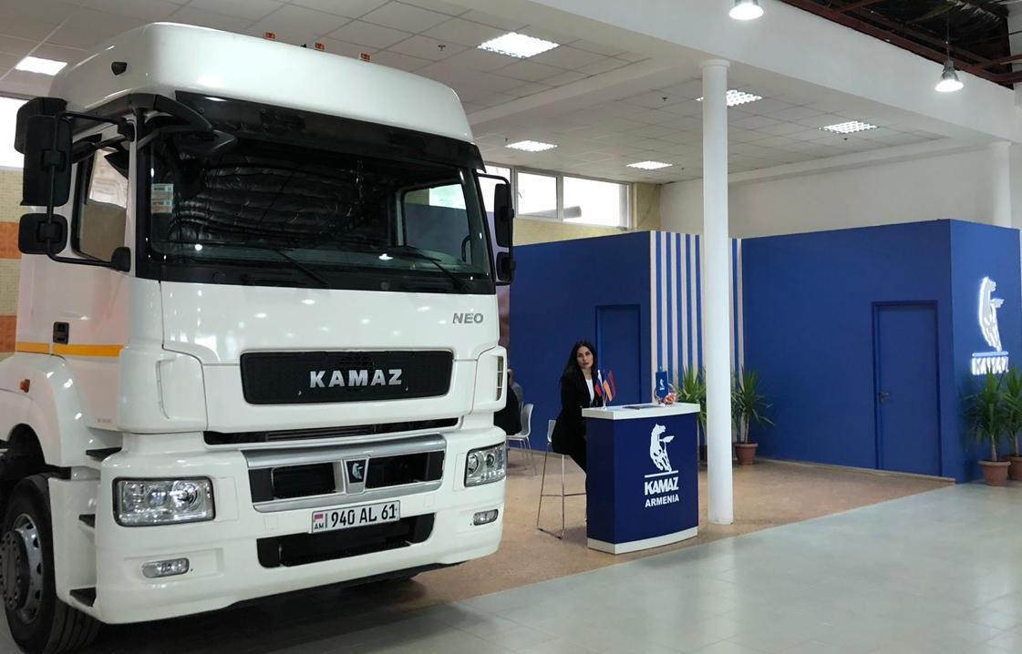 «КАМАЗ» на выставке в Армении