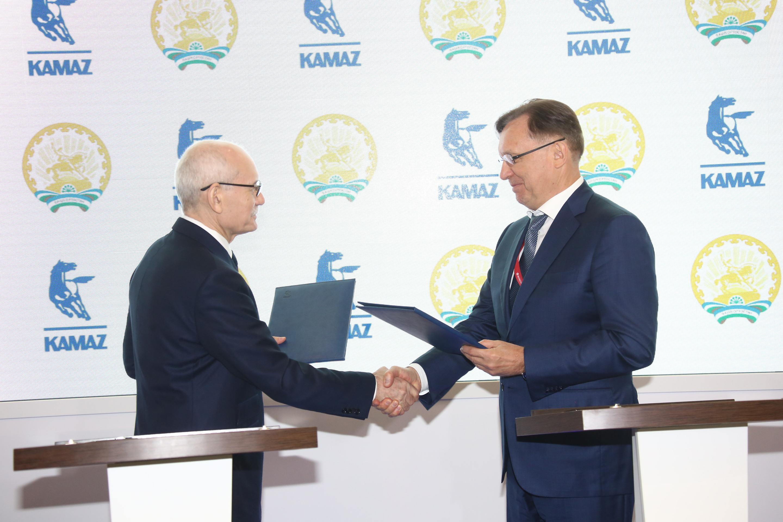 Соглашение о сотрудничестве между «КАМАЗом» и Республикой Башкортостан