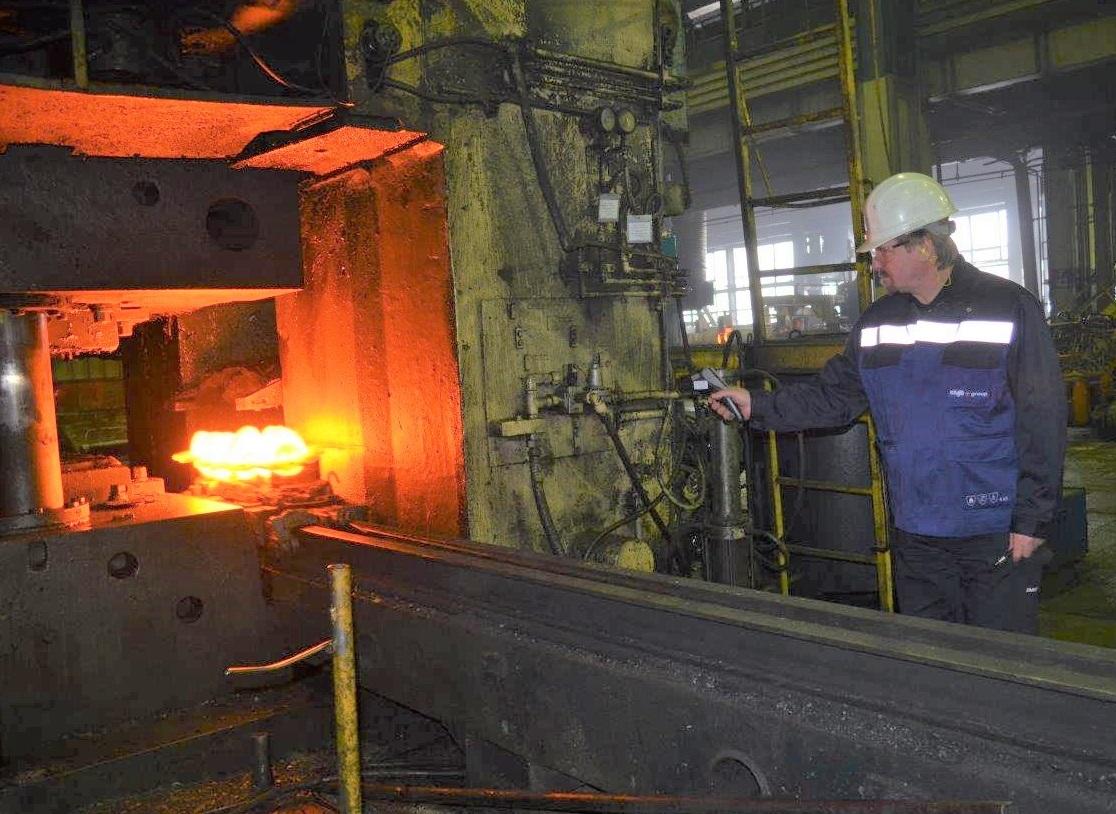 Кузнечный завод готовится к модернизации линии коленвала