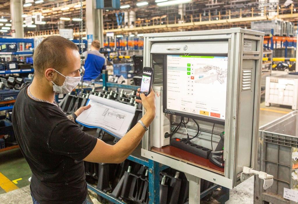MES: процесс производства – на экране
