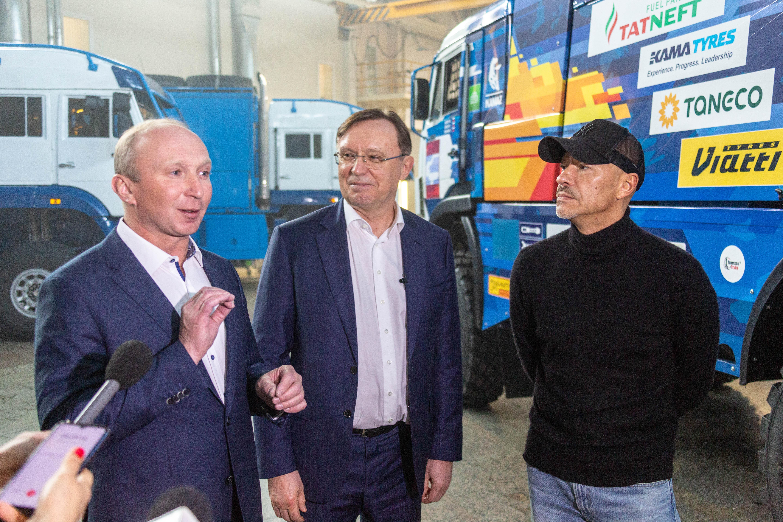 Сергей Когогин посетил съёмочную площадку сериала «Мастер»