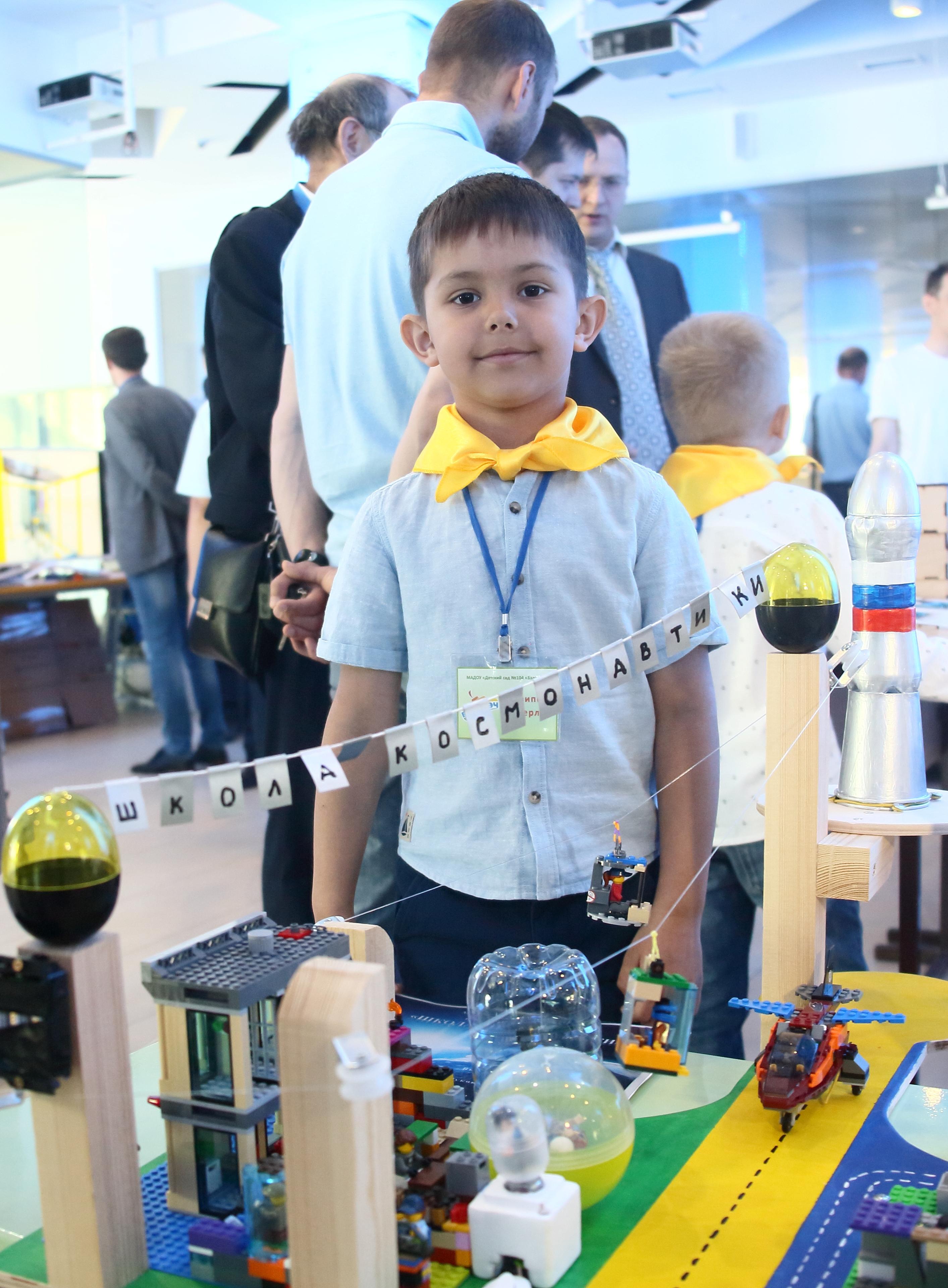Профориентационная работа на «КАМАЗе»  начинается с детских садов