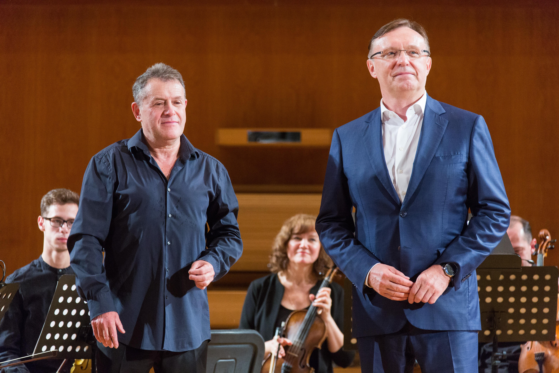 Сергей Когогин выступил на открытии нового концертного сезона