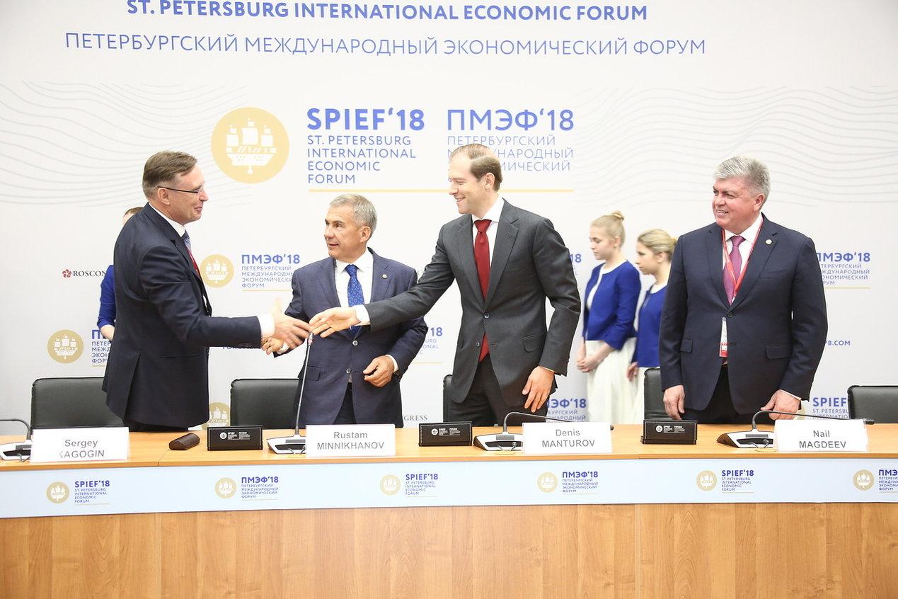 Подписан Специальный инвестиционный контракт «КАМАЗа»