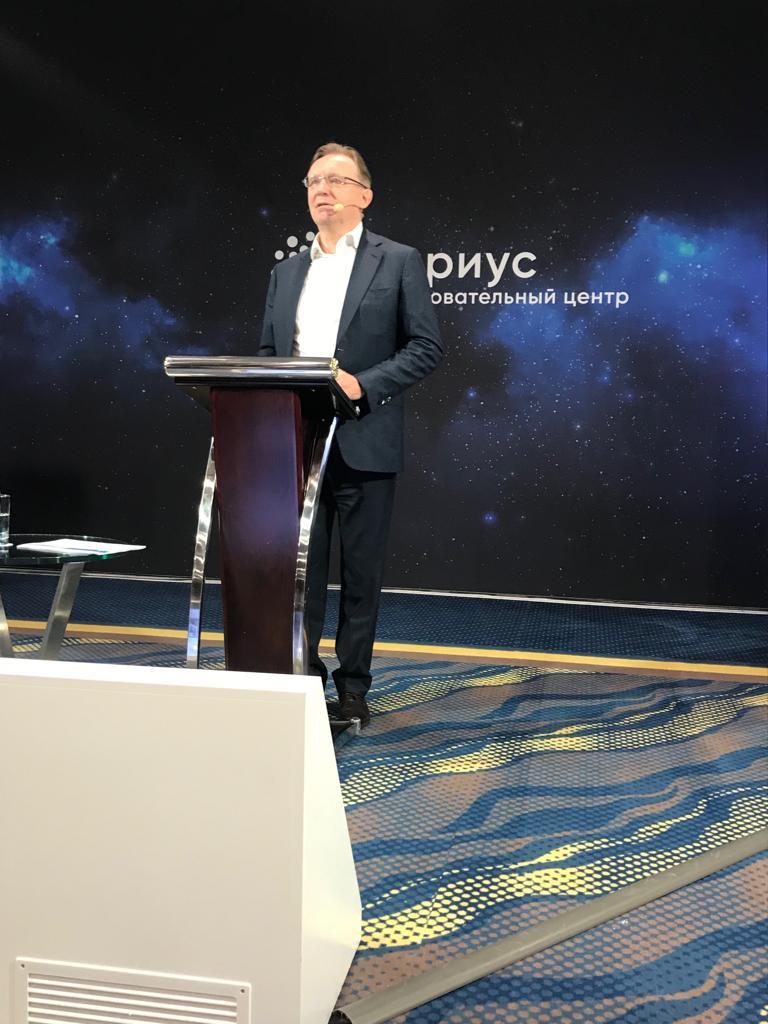Сергей Когогин выступил перед учащимися образовательного центра «Сириус»