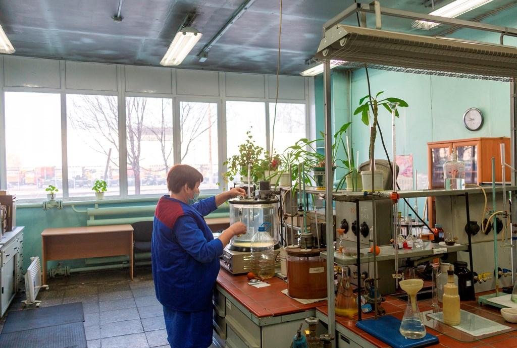 На заводе двигателей отремонтирована экспресс-лаборатория