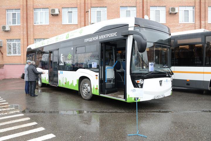 КамАЗ представил новый электробус