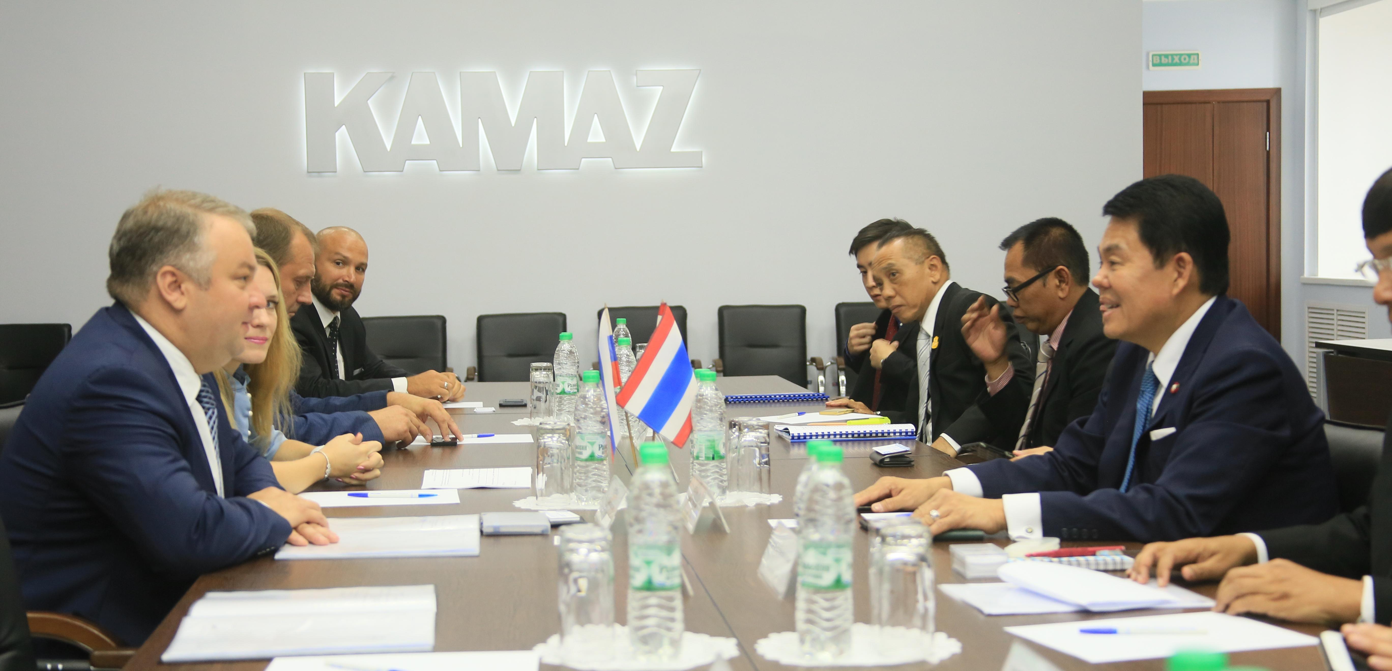 Тайская делегация на «КАМАЗе»