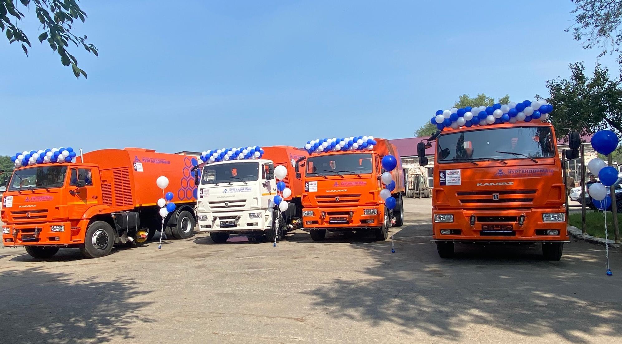 Дорожная техника КАМАЗ для Амурской области
