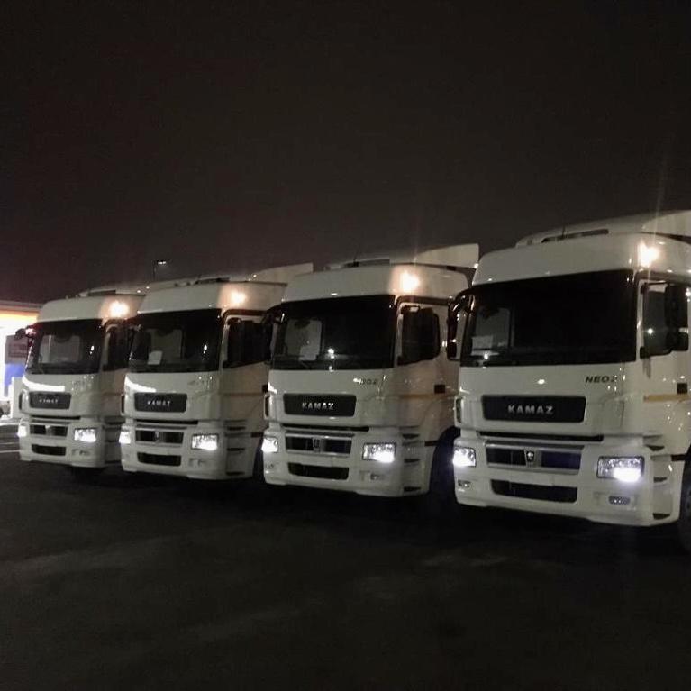 Тягачи КАМАЗ-5490 едут в Краснодарский край