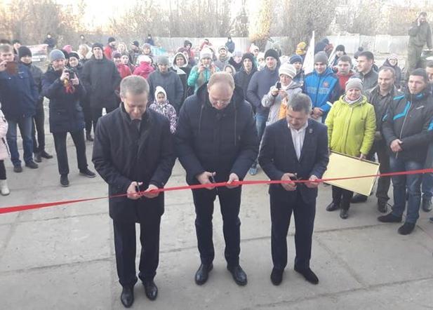 «КАМАЗ» помог открыть центр самбо в Ульяновской области