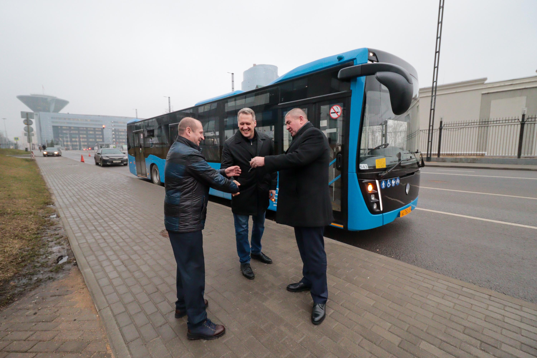 Московский перевозчик протестирует автобус НЕФАЗ