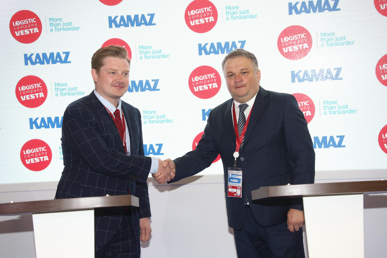 «КАМАЗ» и Logistic company VESTA подписали соглашение о сотрудничестве