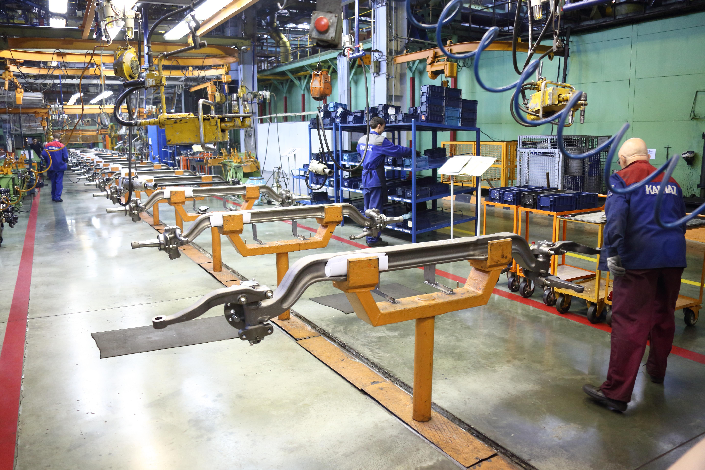 На автомобильном заводе создан эталонный участок нового образца