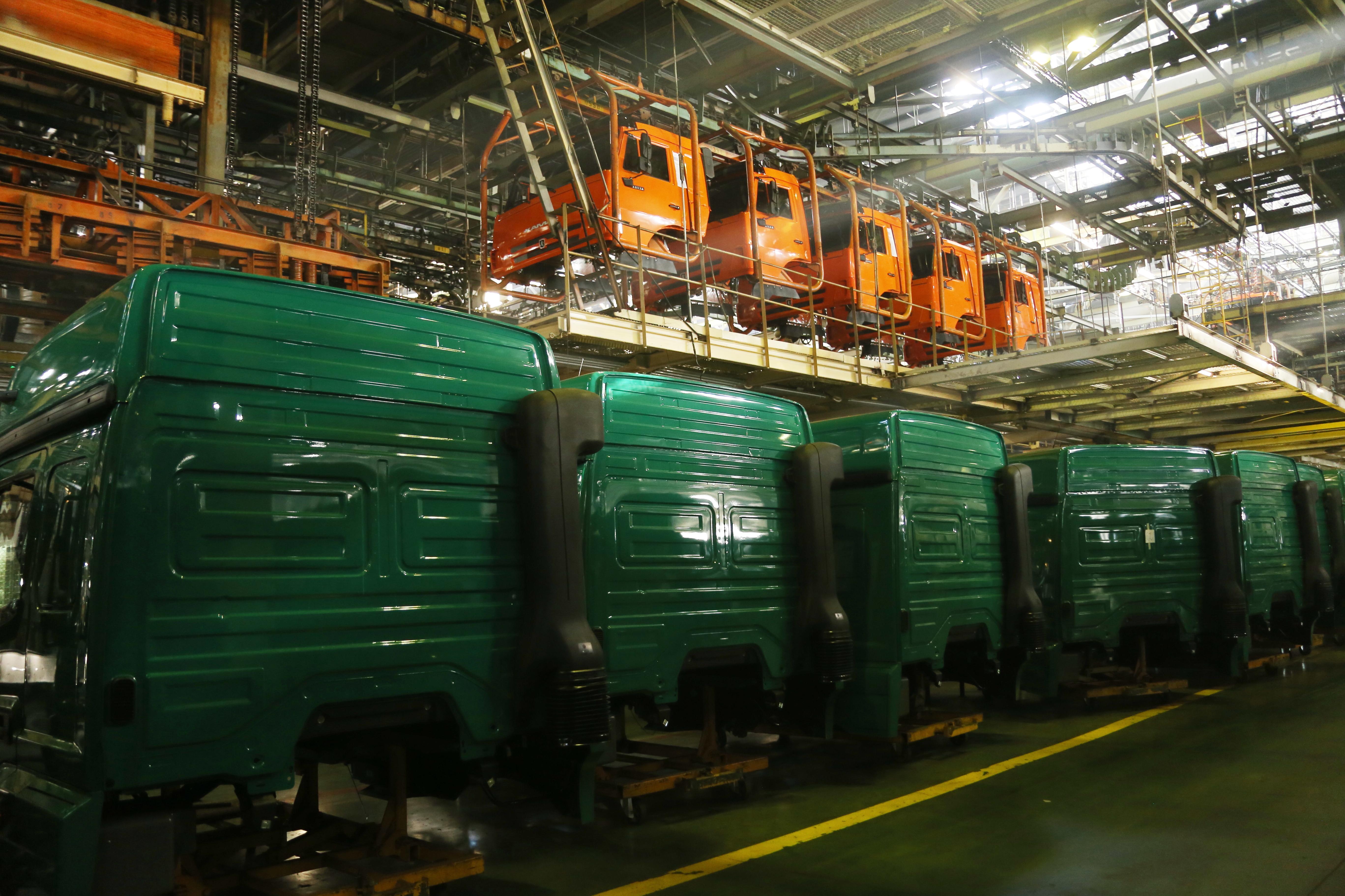 Модернизация конвейера для производства грузовиков нового поколения