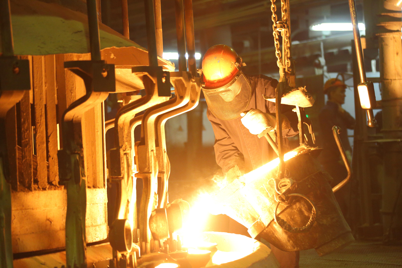 Литейный завод повысил качество продукции