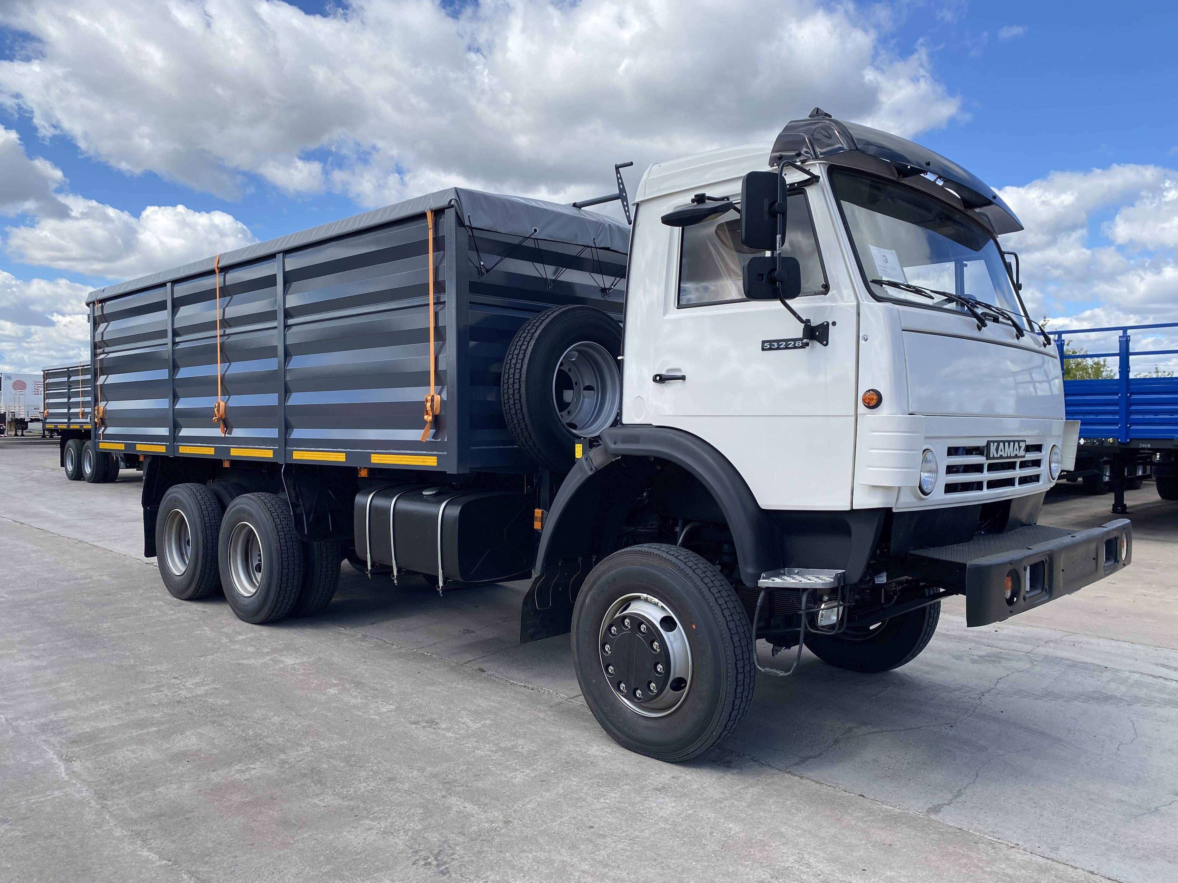 Автомобили КАМАЗ для перевозки «золота» Ганы