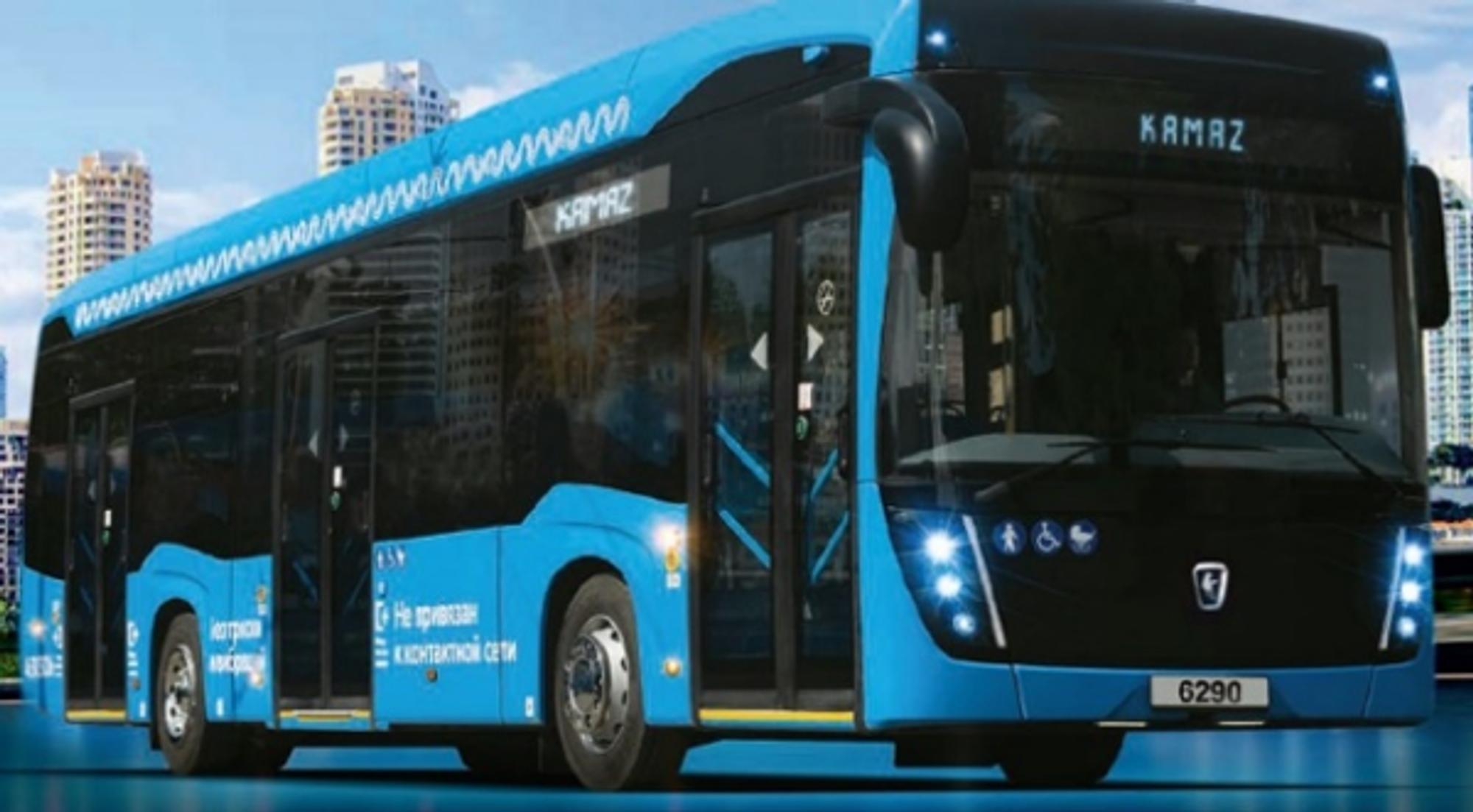 Первый водородный электробус от «КАМАЗа»