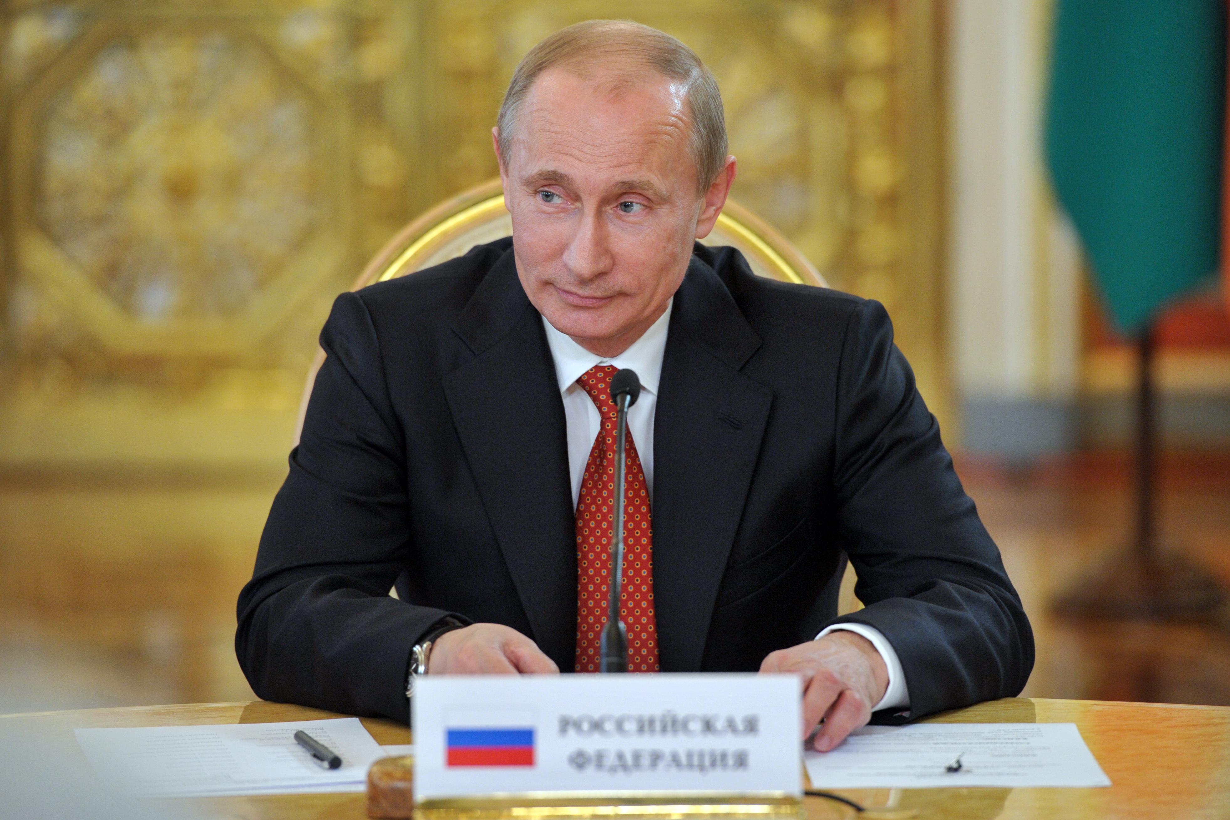 Владимир Путин: «Поздравляю с триумфальным выступлением»
