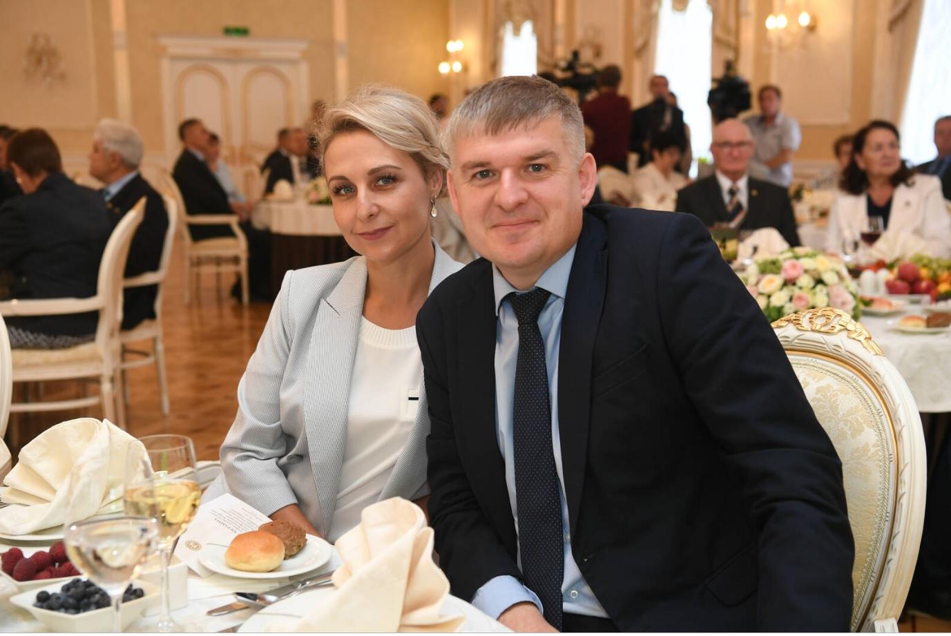 Камазовцы на приёме у президента республики