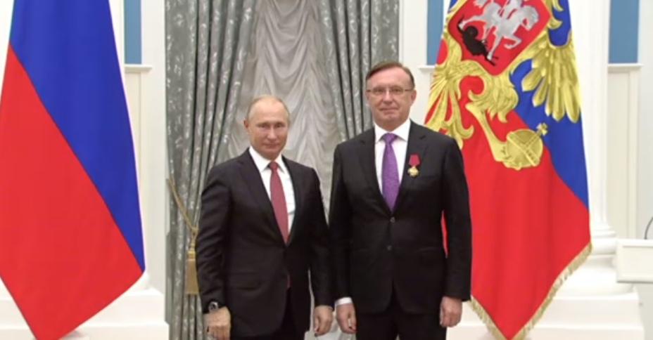 Генеральный директор «КАМАЗа» награждён государственной наградой