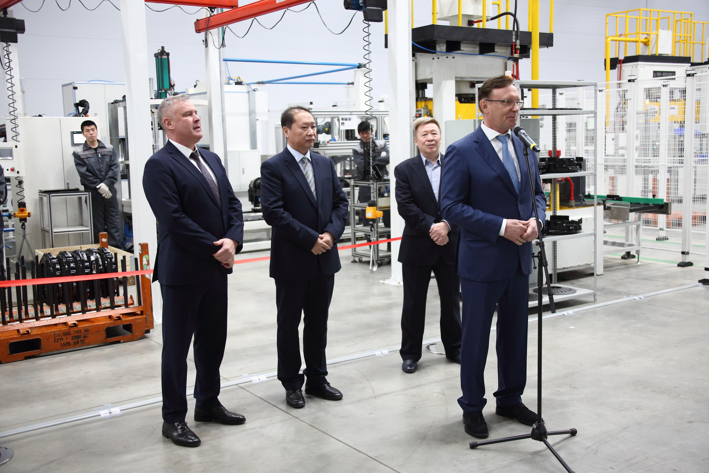 На «КАМАЗе» запущена новая производственная линия