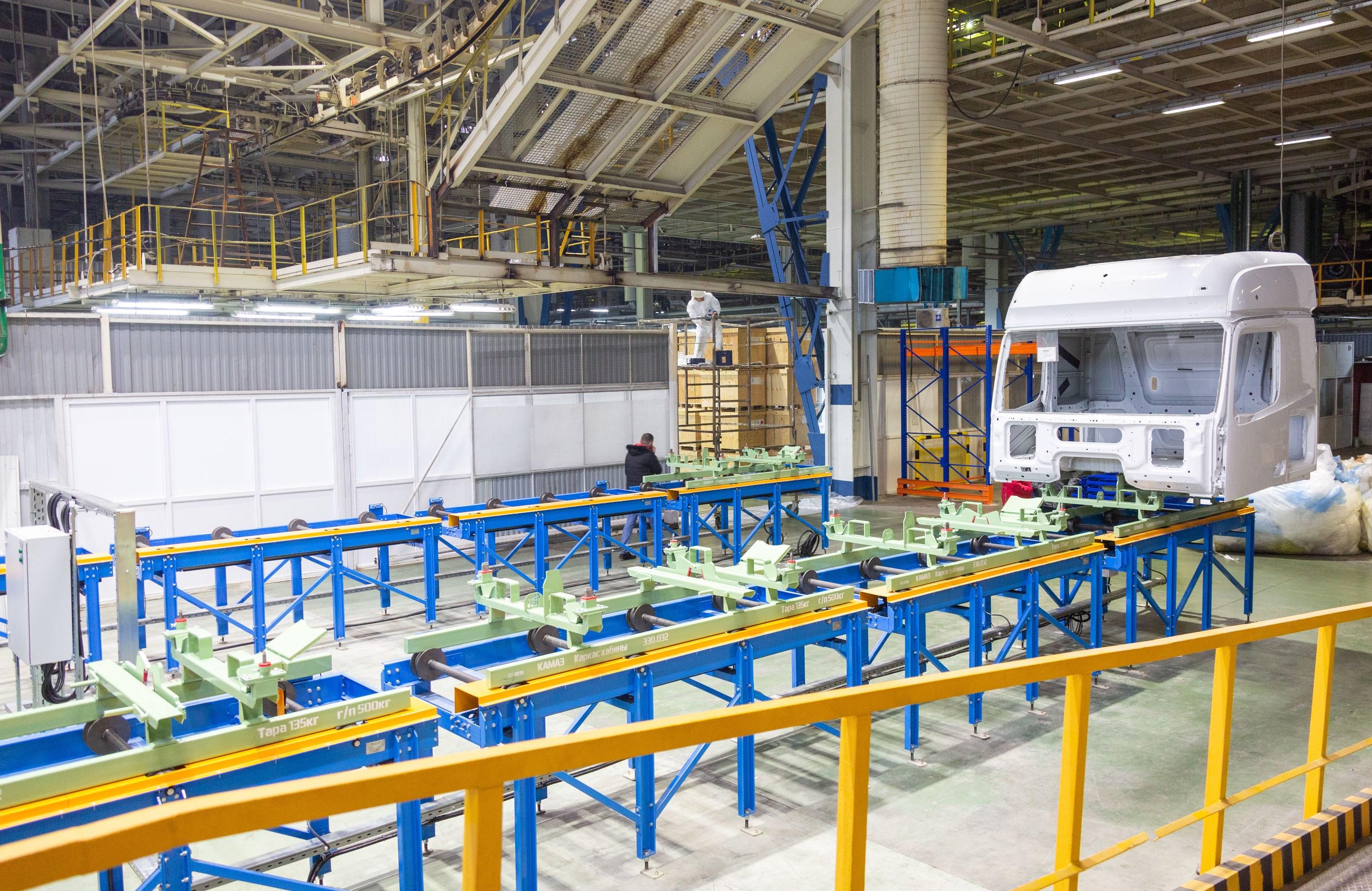 Автоматизированная система транспортировки для кабины К5