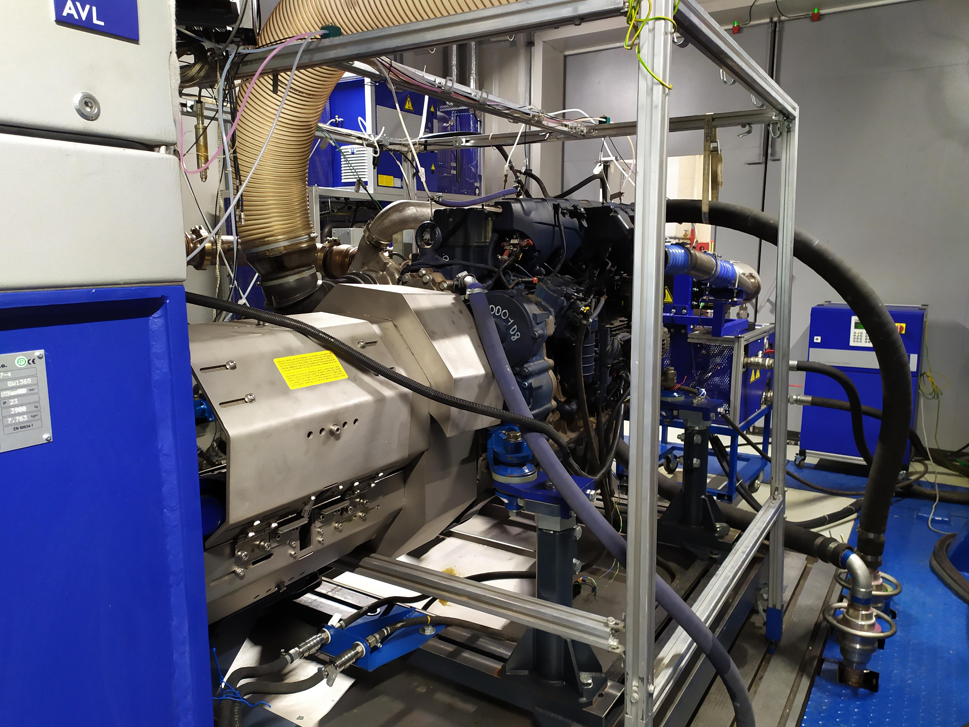 «КАМАЗ» проверяет свои двигатели на экологичность