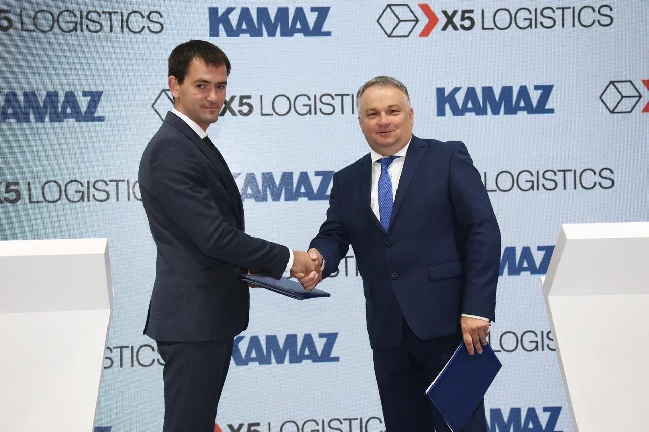 «КАМАЗ» и  X5 протестируют интеллектуальную транспортную систему