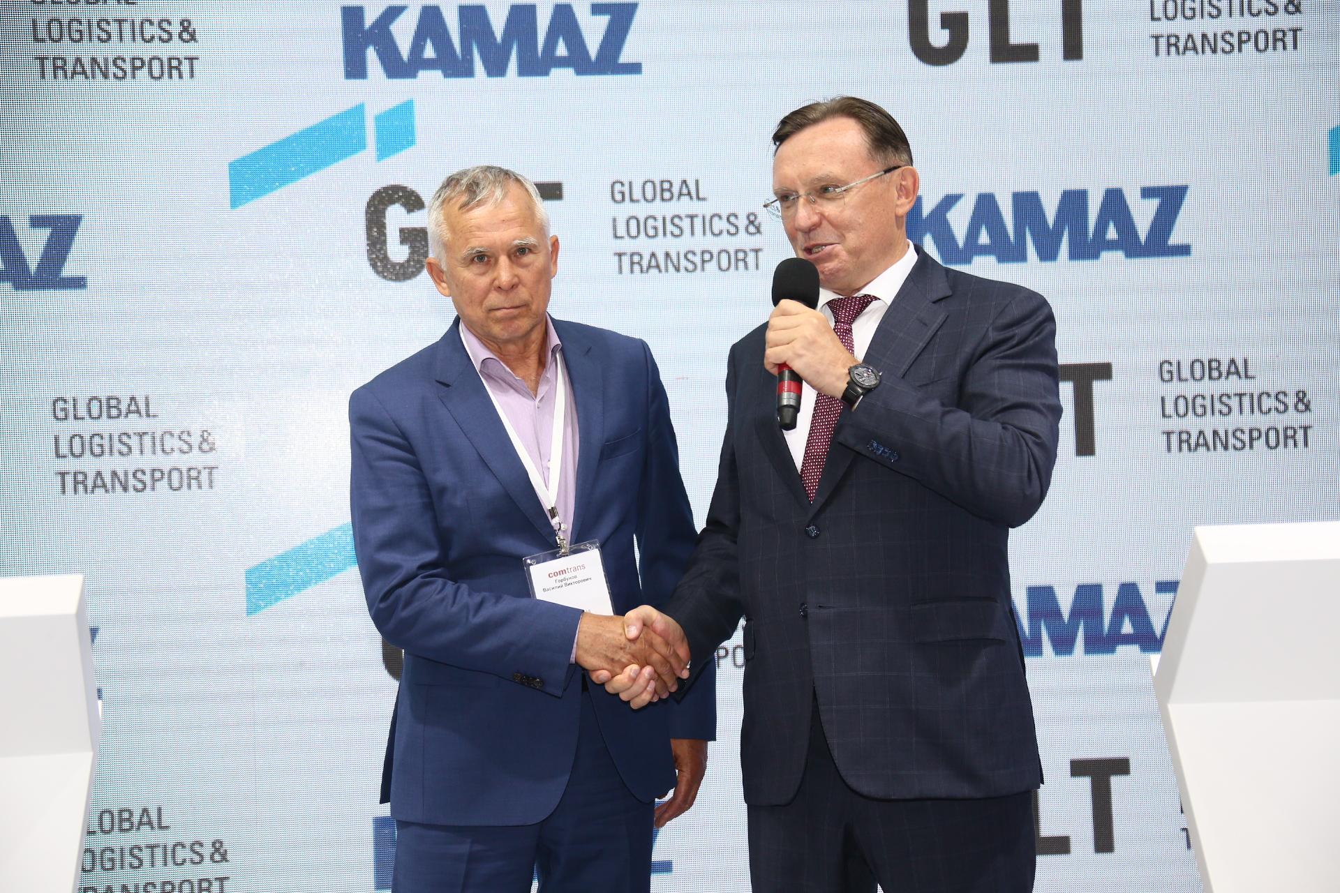 «КАМАЗ» и GLT подписали соглашение о приобретении тягачей нового поколения К5