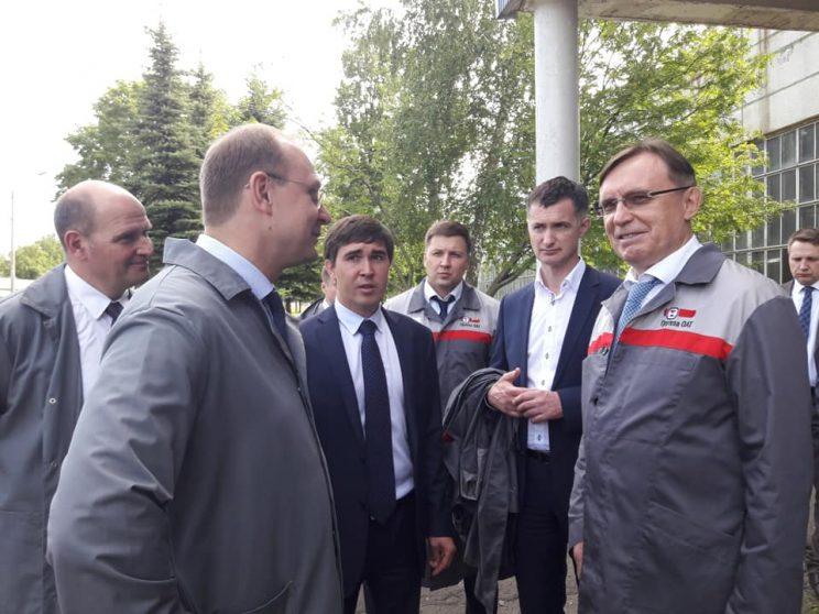 Визит руководства «КАМАЗа» в Ульяновскую область
