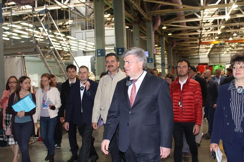 Турецкая делегация на «КАМАЗе»