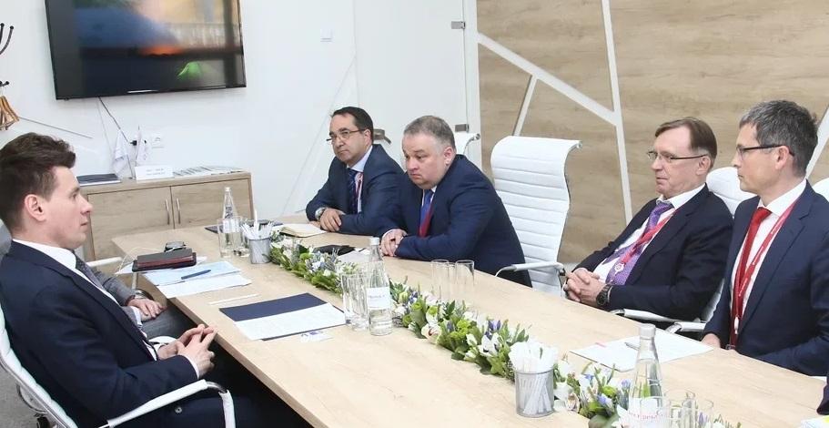 Сергей Когогин встретился с руководством Российского экспортного центра