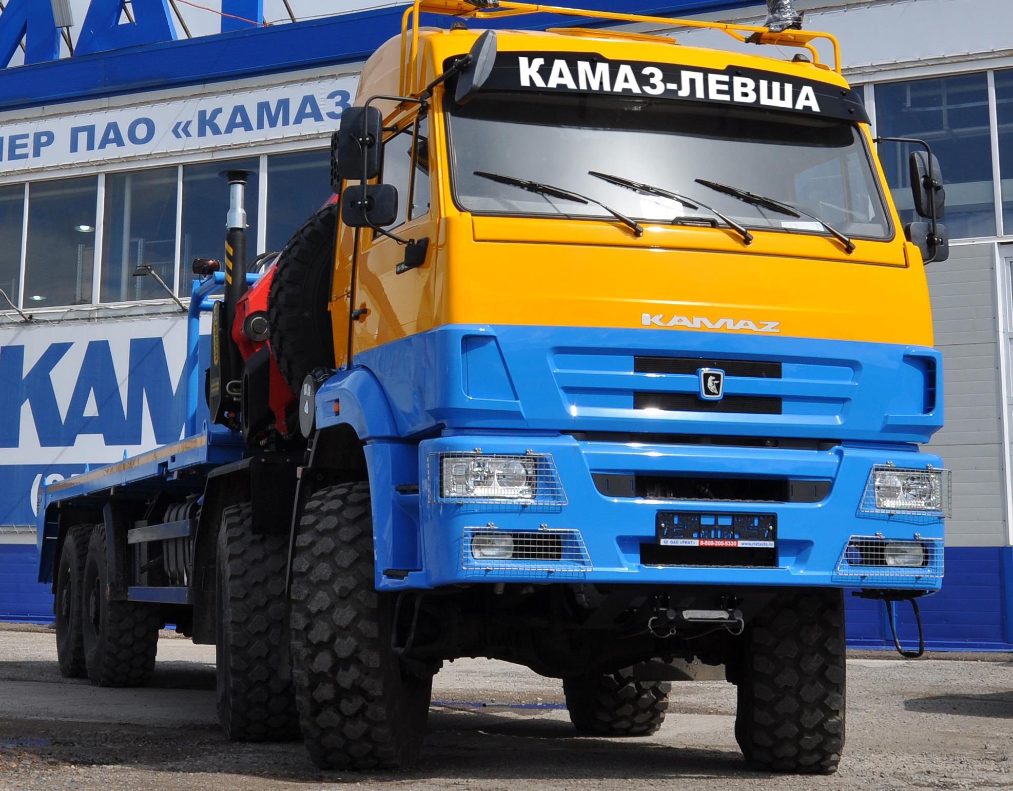 КАМАЗ-ЛЕВША для Крайнего Севера