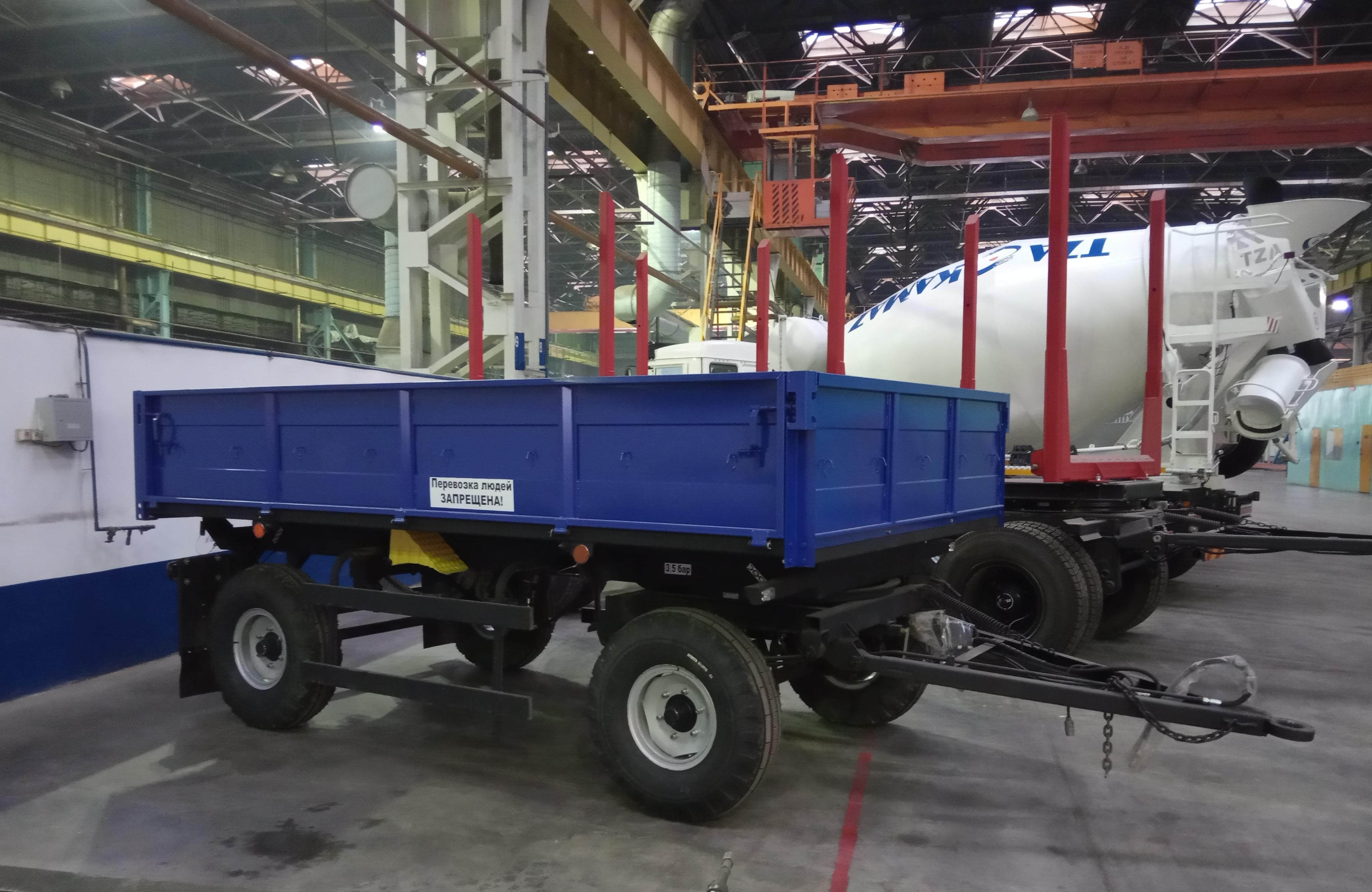 Новый тракторный прицеп от ТЗА