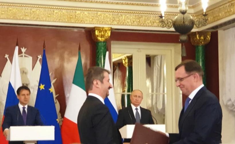 «КАМАЗ» и FORNOVO GAS SRL подписали соглашение о сотрудничестве