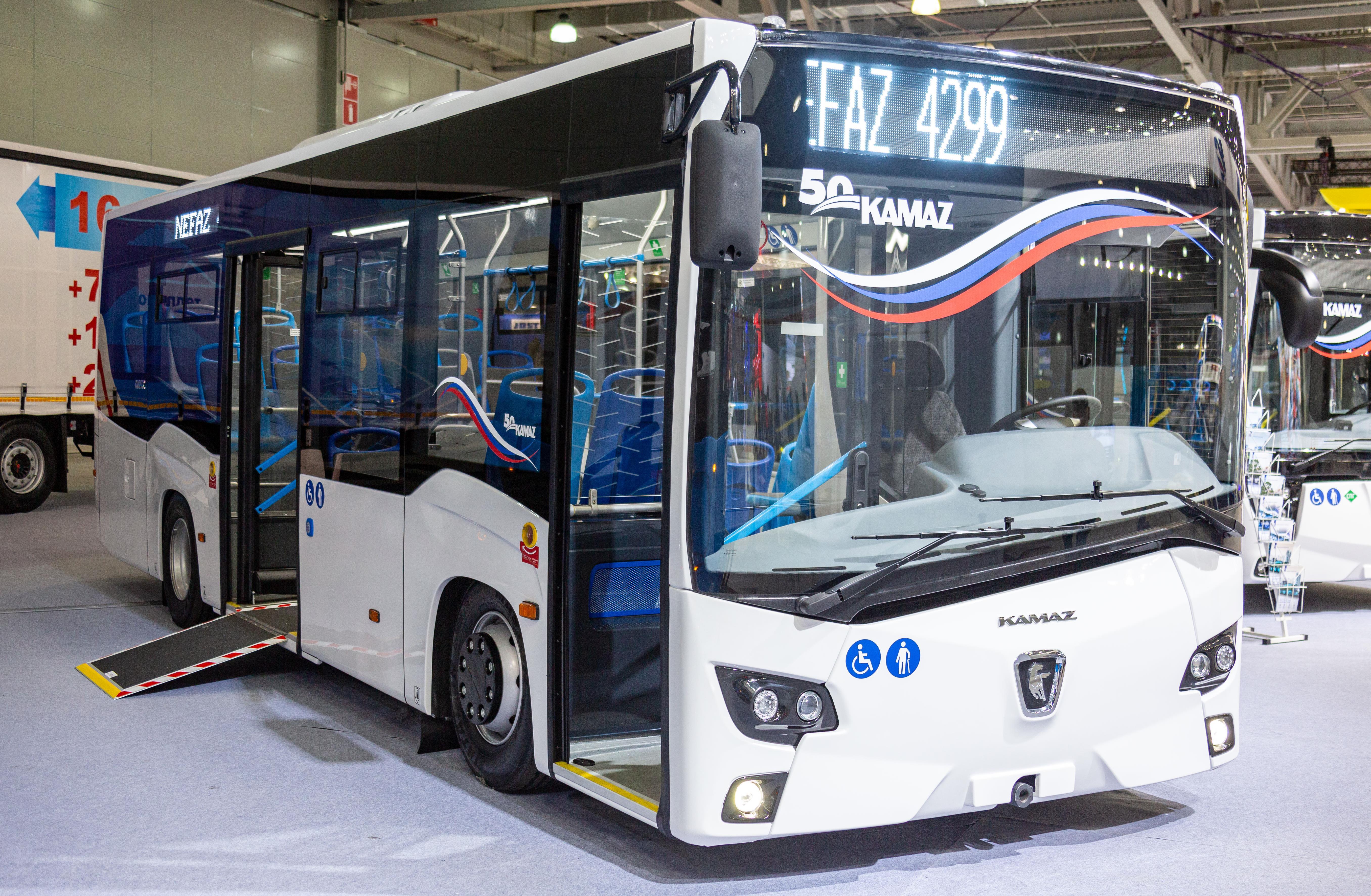 «КАМАЗ» приступил к испытаниям нового автобуса