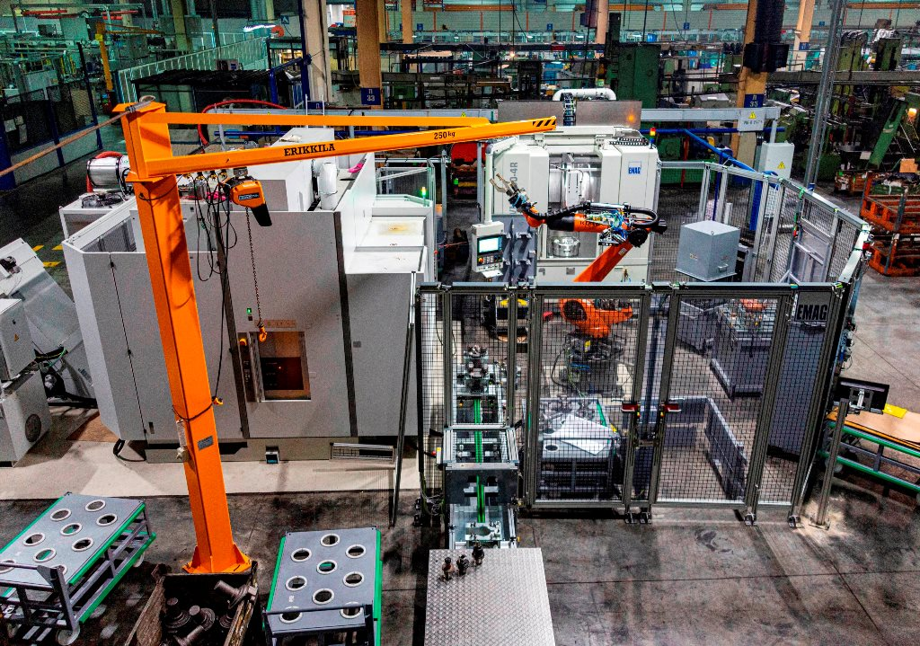 На заводе двигателей «КАМАЗа» – три новых линии