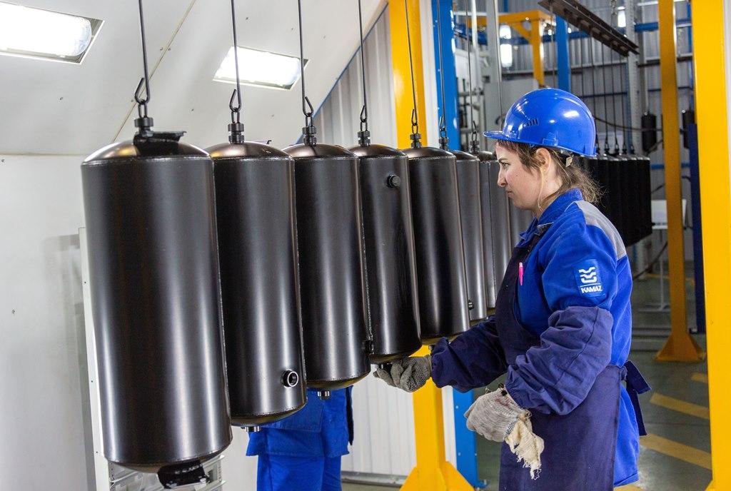 Новое оборудование на прессово-рамном заводе