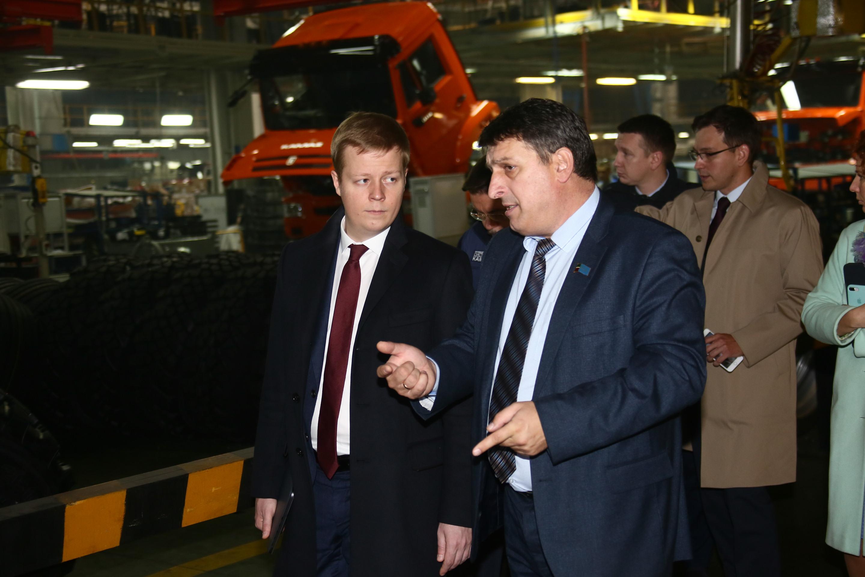 Делегация Минпромторга РФ на «КАМАЗе»