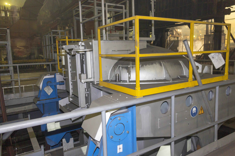Новая печь выдержки на литейном заводе «КАМАЗа»