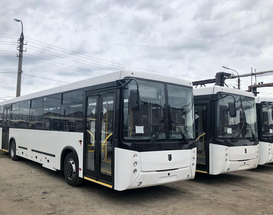 Автобусы НЕФАЗ для Санкт-Петербурга