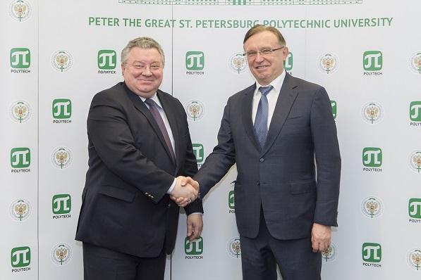 Сергей Когогин встретился с руководством СПбПУ