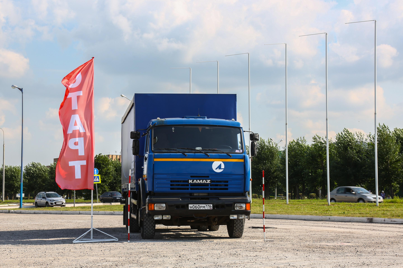 Конкурс мастерства для водителей КАМАЗов