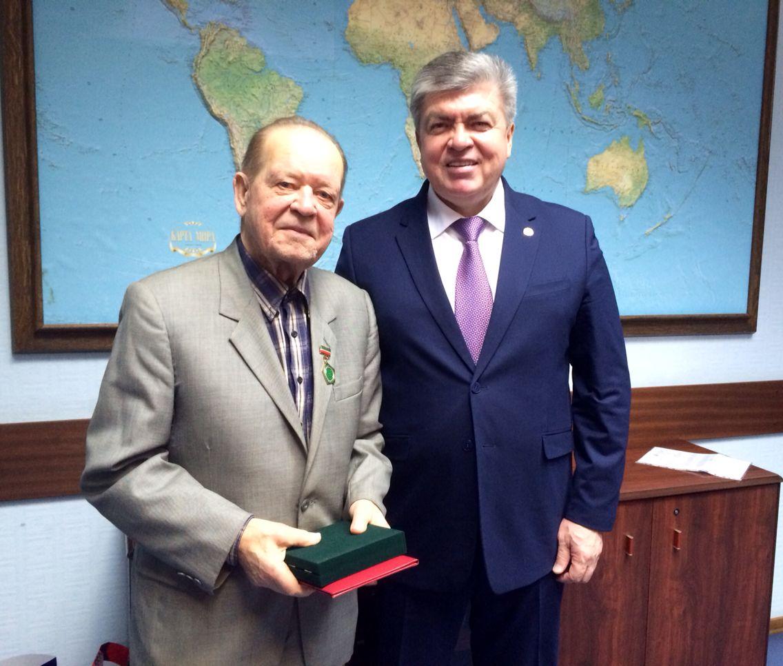 Второй директор «КАМАЗа» стал Почётным гражданином Челнов