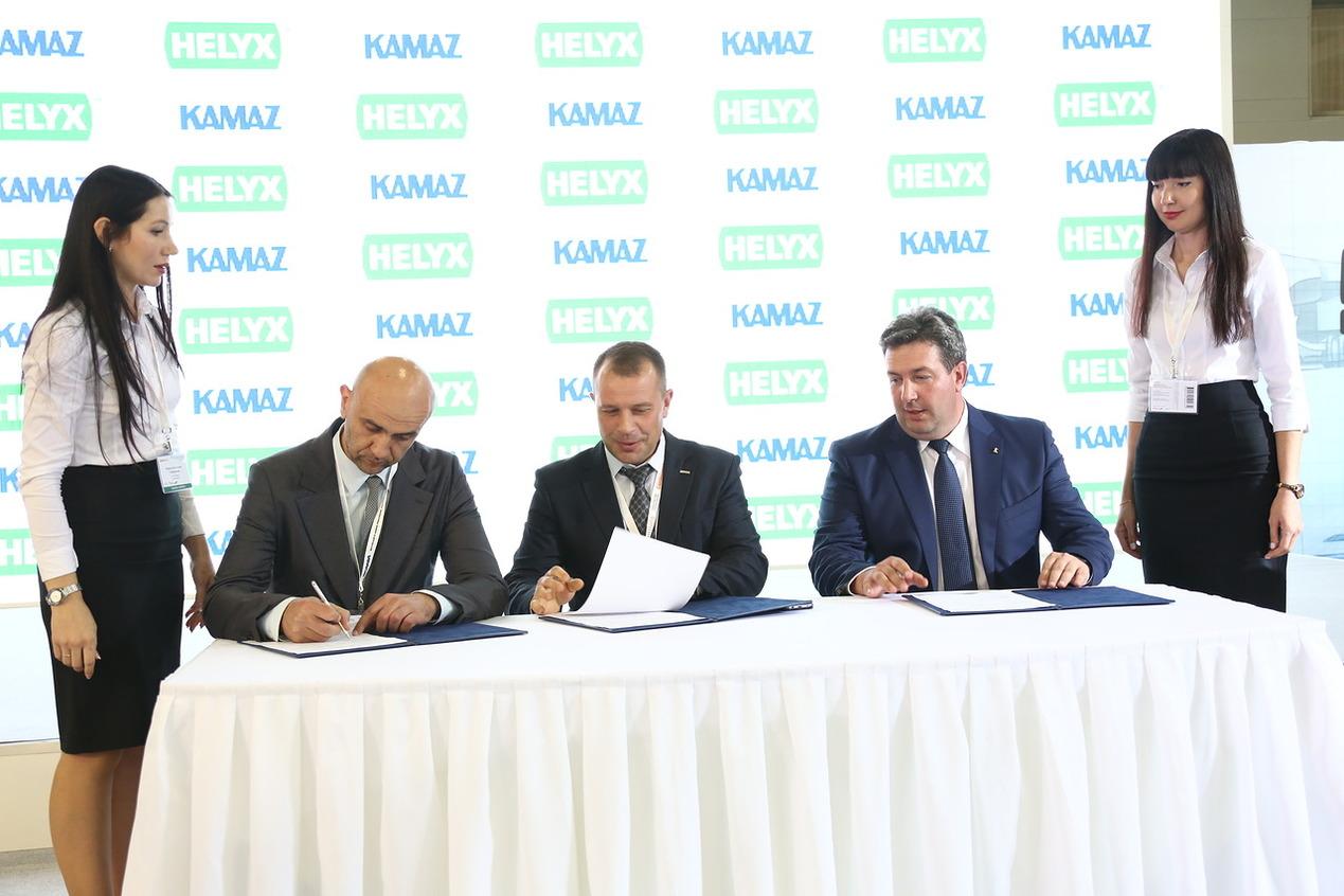 «ТФК «КАМАЗ», «НЕФАЗ» и «БИОПЛАСТ» подписали трёхстороннее соглашение