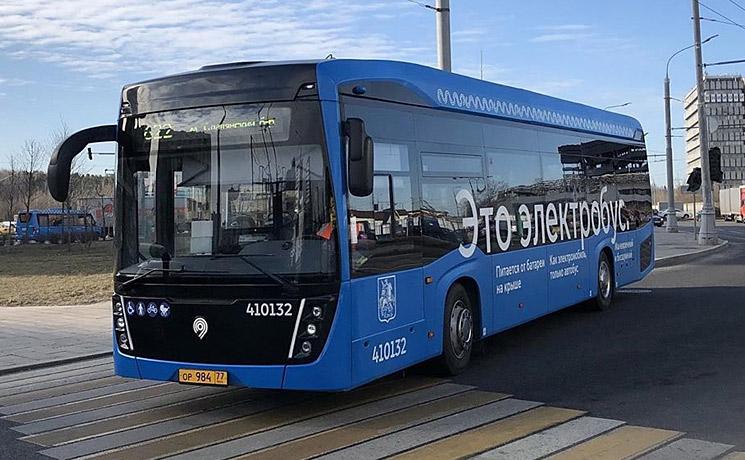 Электробусы КАМАЗ заработали на новых маршрутах