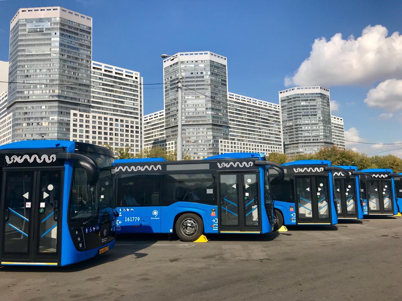 «КАМАЗ» закрыл очередной контракт на поставку автобусов для Москвы