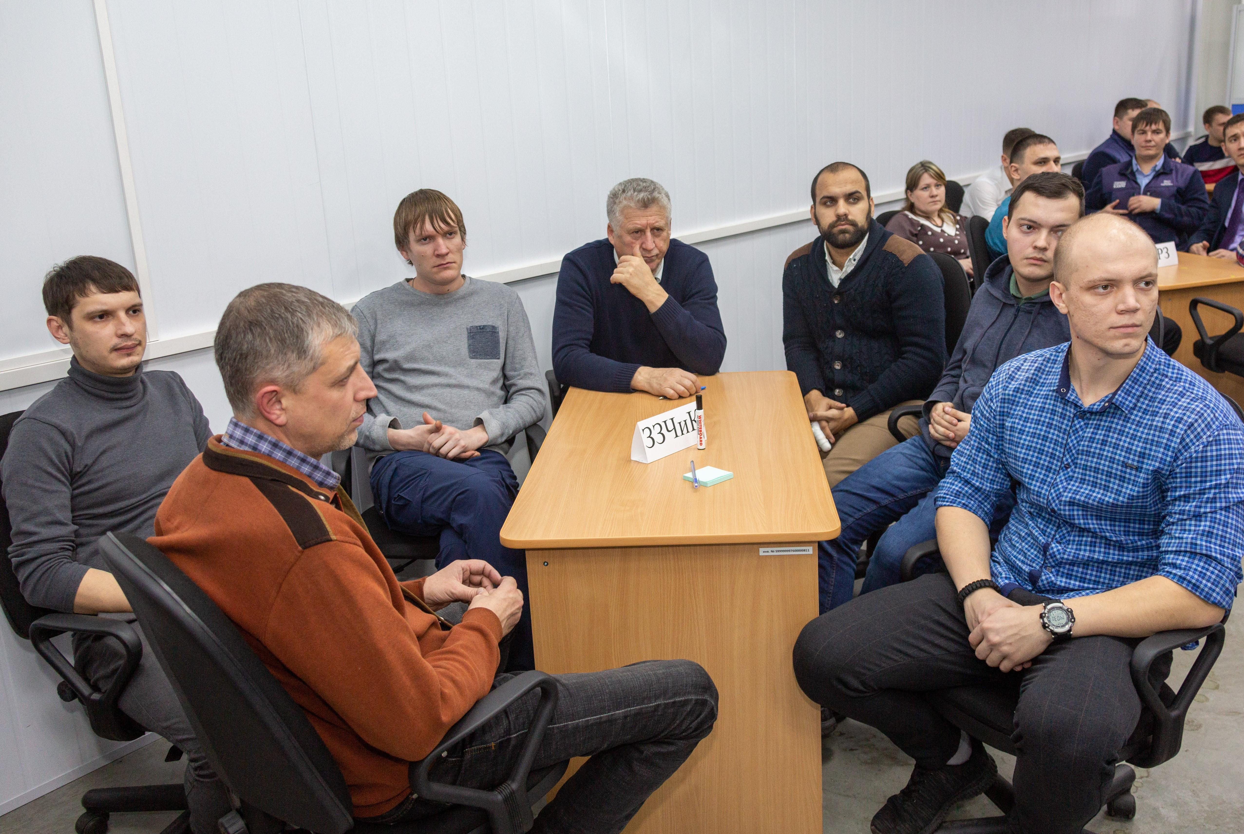 На «КАМАЗе» определили лучшую команду мастеров
